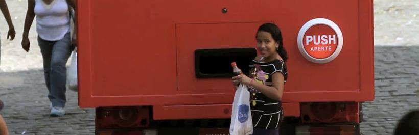 camión de la felicidad estrategia digital de coca-cola brazil