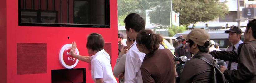 camion de felicidad estrategia digital de coca-cola filipinas